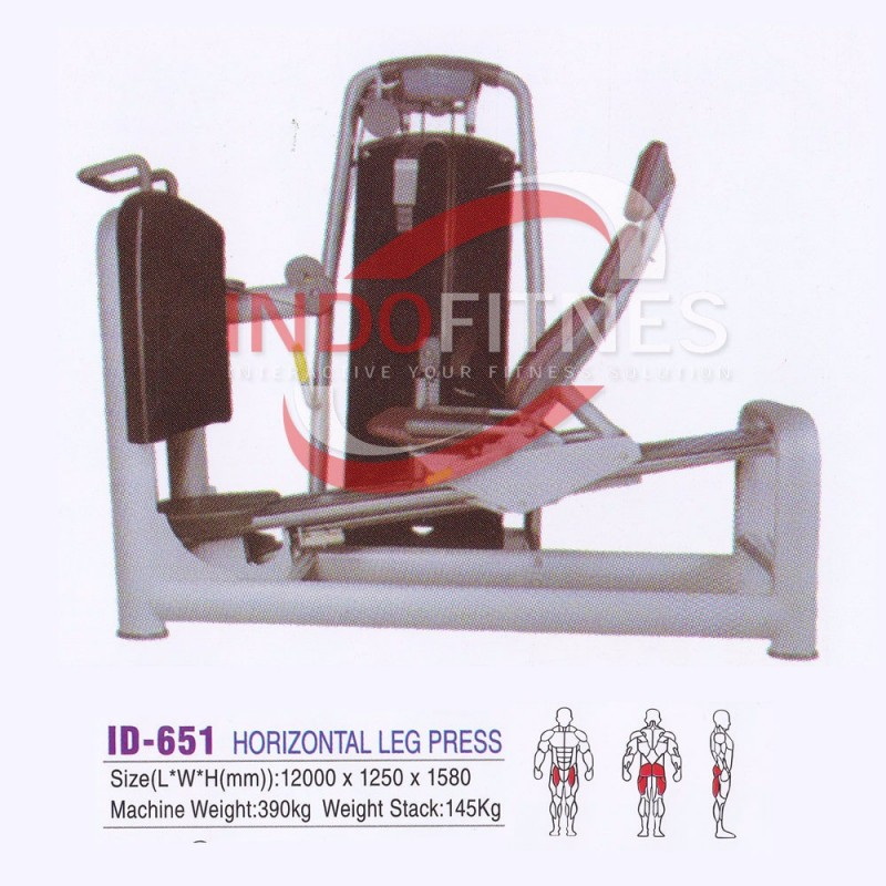 ID-651 Horizontal Leg Press