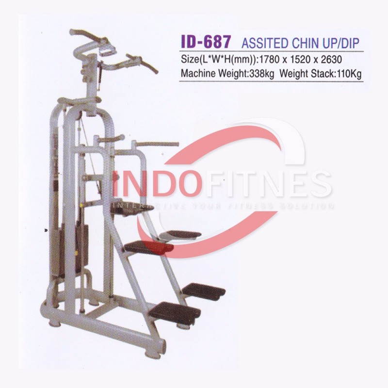 ID-687 Assisted Chin Up Dip