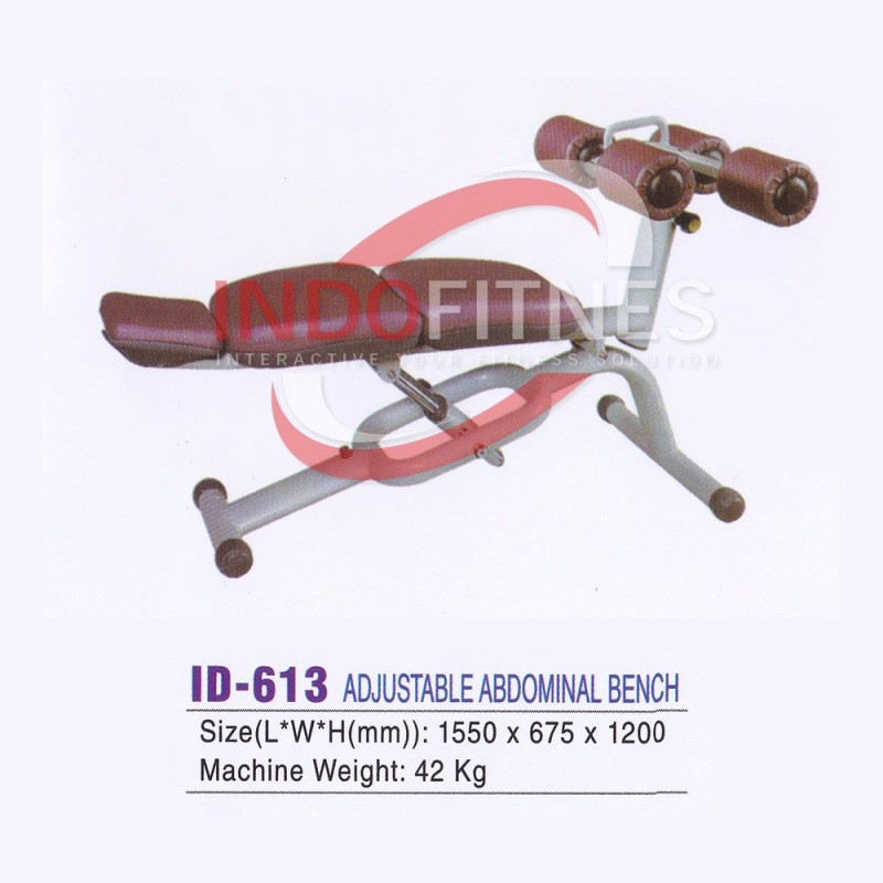 ID-613 Adjustable Abdominal Bench