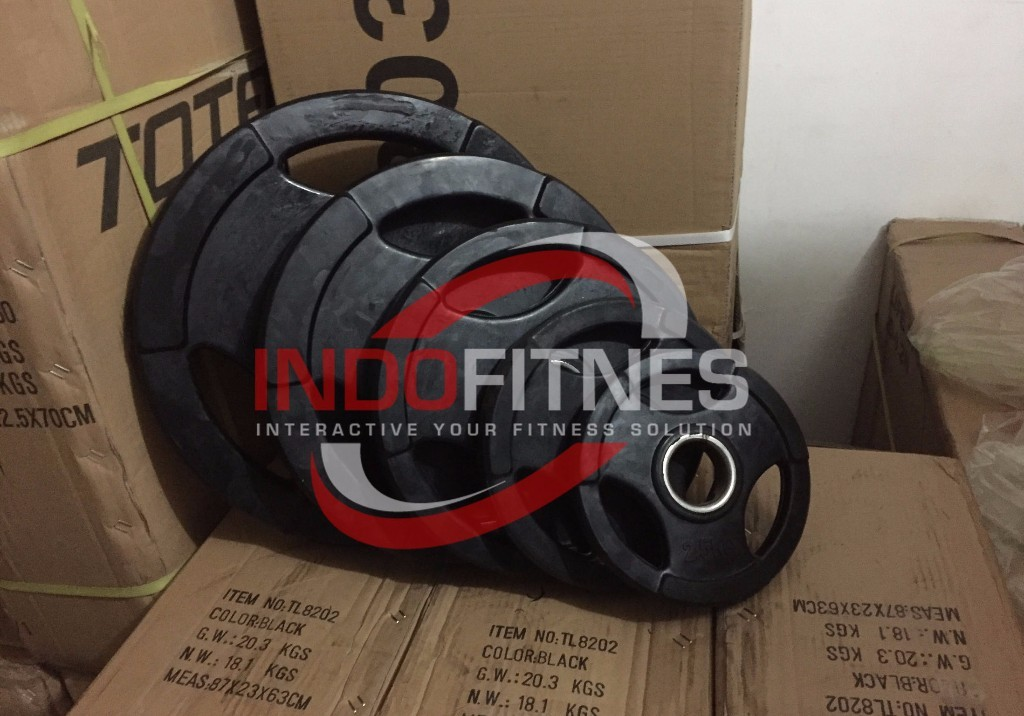 Weight Plate Rubber (Lubang 5cm)